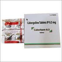 0.5 MG Cabergolin Tablets IP