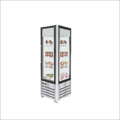 Euronova Vertical Four Side Glass Freezer