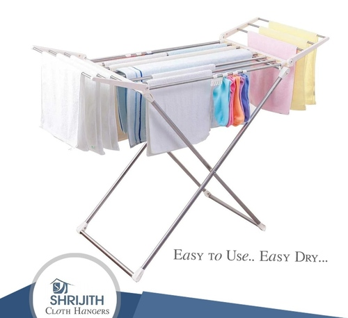 Stainless Steel Cloth Drying Stand Manufacturing in MettupalayamStainless Steel Cloth Drying Stand Manufacturing In Mettupalayam