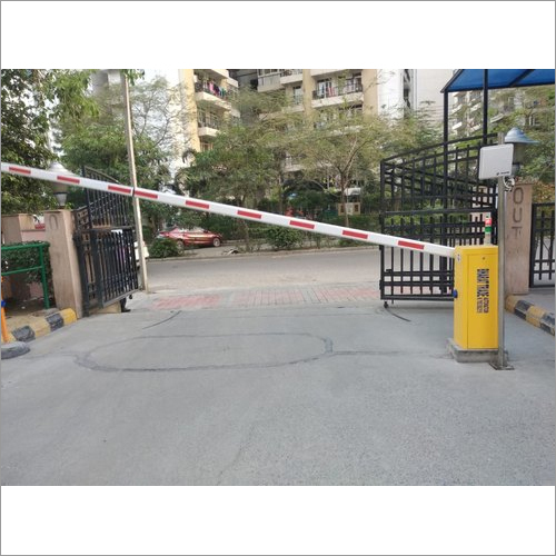 Yellow and Orange Mild Steel Faac Boom Barrier For Industrial