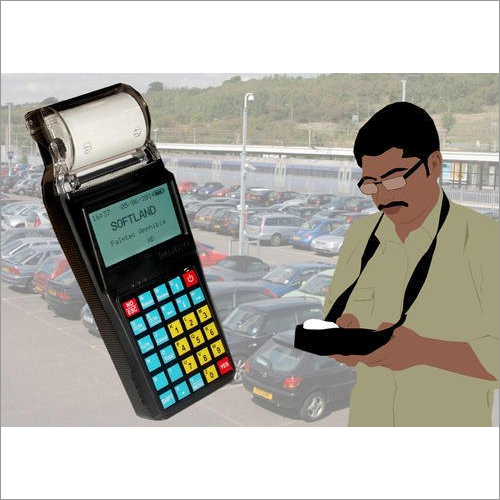 Parking Handheld Machine