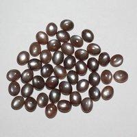 4x5mm Brown Moonstone Oval Cabochon Loose Gemstones