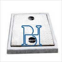 Gray Steel Fiber Reinforced Concrete Manhole Covers