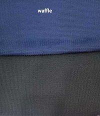 Polyester Waffle 2-way Lycra Fabric
