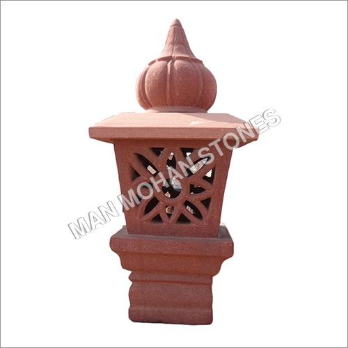 Decorative Cement Garden Lamp Post