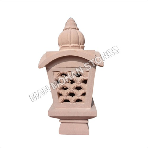 Decorative Stone Lamp Post