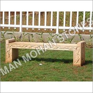 Outdoor Sandstone Bench