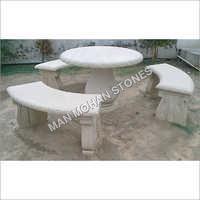 Outdoor Garden Bench Set
