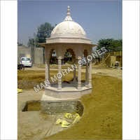 Stone Chatri and temple
