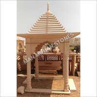 Marble Sand Stone Chhatri For Mandir