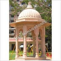 Natural Sandstone Chatri For Mandir