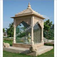 Outdoor Garden Stone Chatri