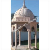Stone Chatri For Mandir