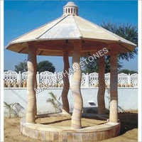 Decorative Sandstone Gazebo