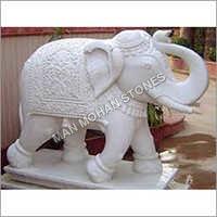 Sandstone Elephant Statue