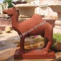 Sandstone Camel Statue