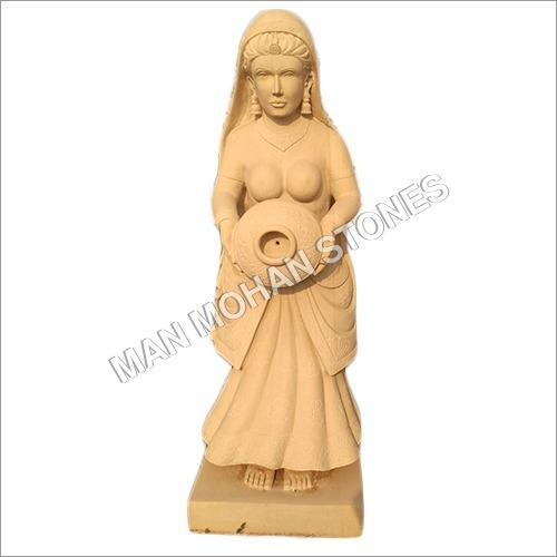 Decorative Sandstone Statue