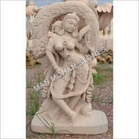 Sandstone Monument Statue
