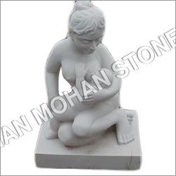 White Sandstone Statue