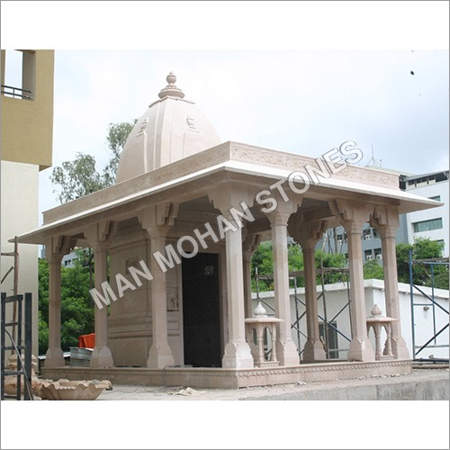 Stone Temple With Multiple Pillars