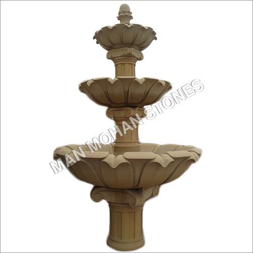 Stone Fountain Lotus theam