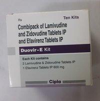 Lamivudine + Zidovudine + Efavirenz Tablets