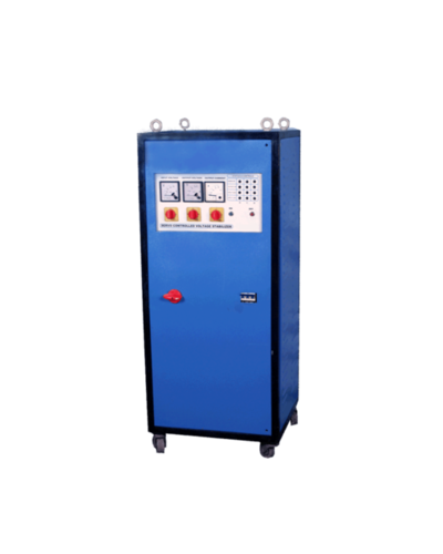 5 kVA to 75 kVA Servo Voltage Stabilizer Single Phase - Air Cooled