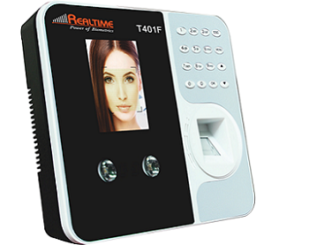 Face And Finger Based Attendance Machine