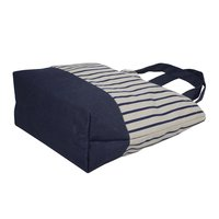 12 OZ Natural canvas Tote Bag With Jute Bottom & Jute Handle