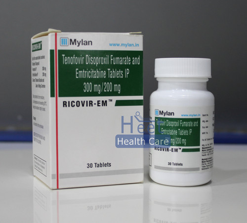 Tenofovir   + Emticitabine  Tablets