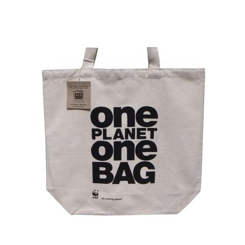 Self Handle Natural White 8 Oz Canvas Bag