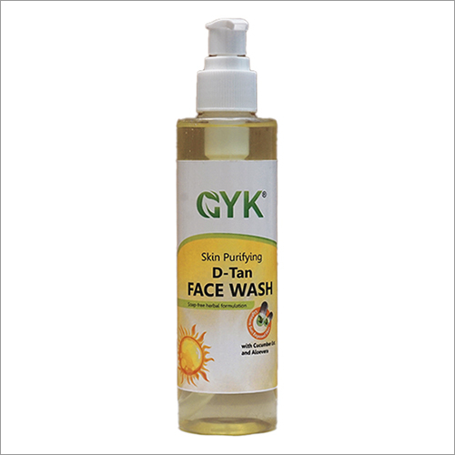 D-Tan Face Wash