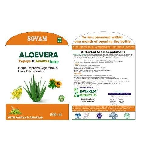 Aloe Papaya Amaltas Juice