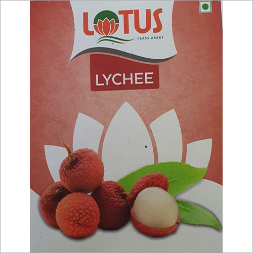 Lychee Flavors Soft Drink
