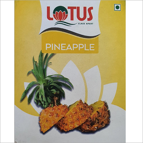 Pineapple Flavors Soft Drink