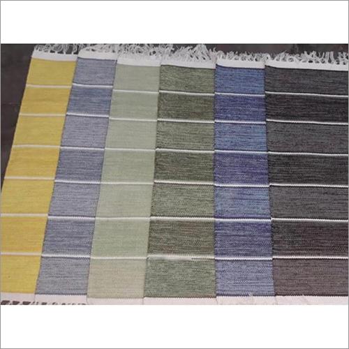 Handmade Colored Cotton Floor Rugs