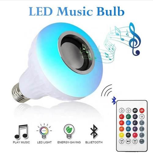 Led Wireless Light Bulb Speaker