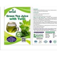 Green Tea Juice With Tulsi