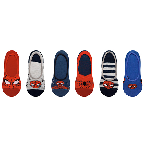 Spiderman Asst Printed Socks