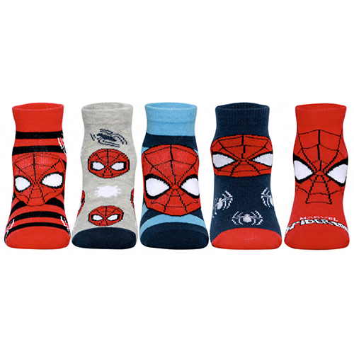 Spiderman Asst Supesox Socks