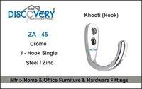 J - Hook Single Key Stand