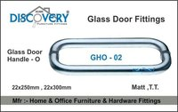 O - Glass Door Handle