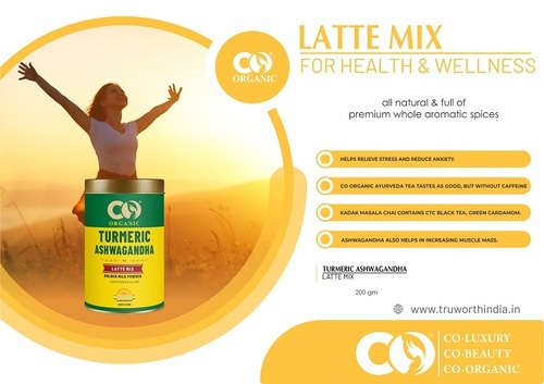 Co Organic Turmeric Ashwagandha Latte Mix