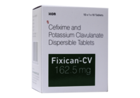 Cifixime and Clavulanate Potassium Dispersible Tablets