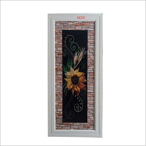 Floral Printed PVC Door