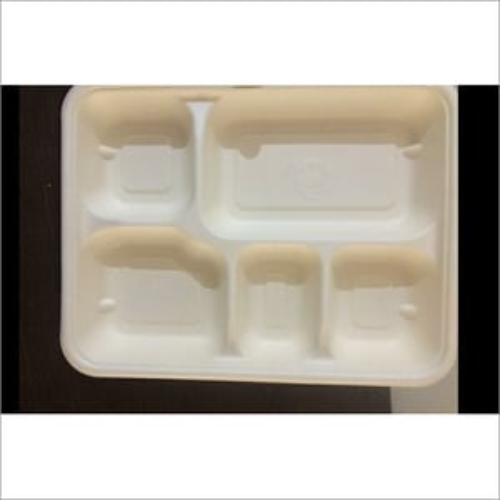 5 CP Sugarcane Pulp Meal Tray