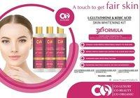 Co Luxury L-Glutathione & Kojic Acid Skin Whitening Kit