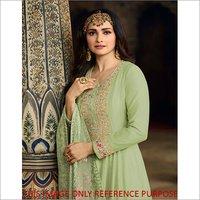 Printed Designer Long Anarkali Suit