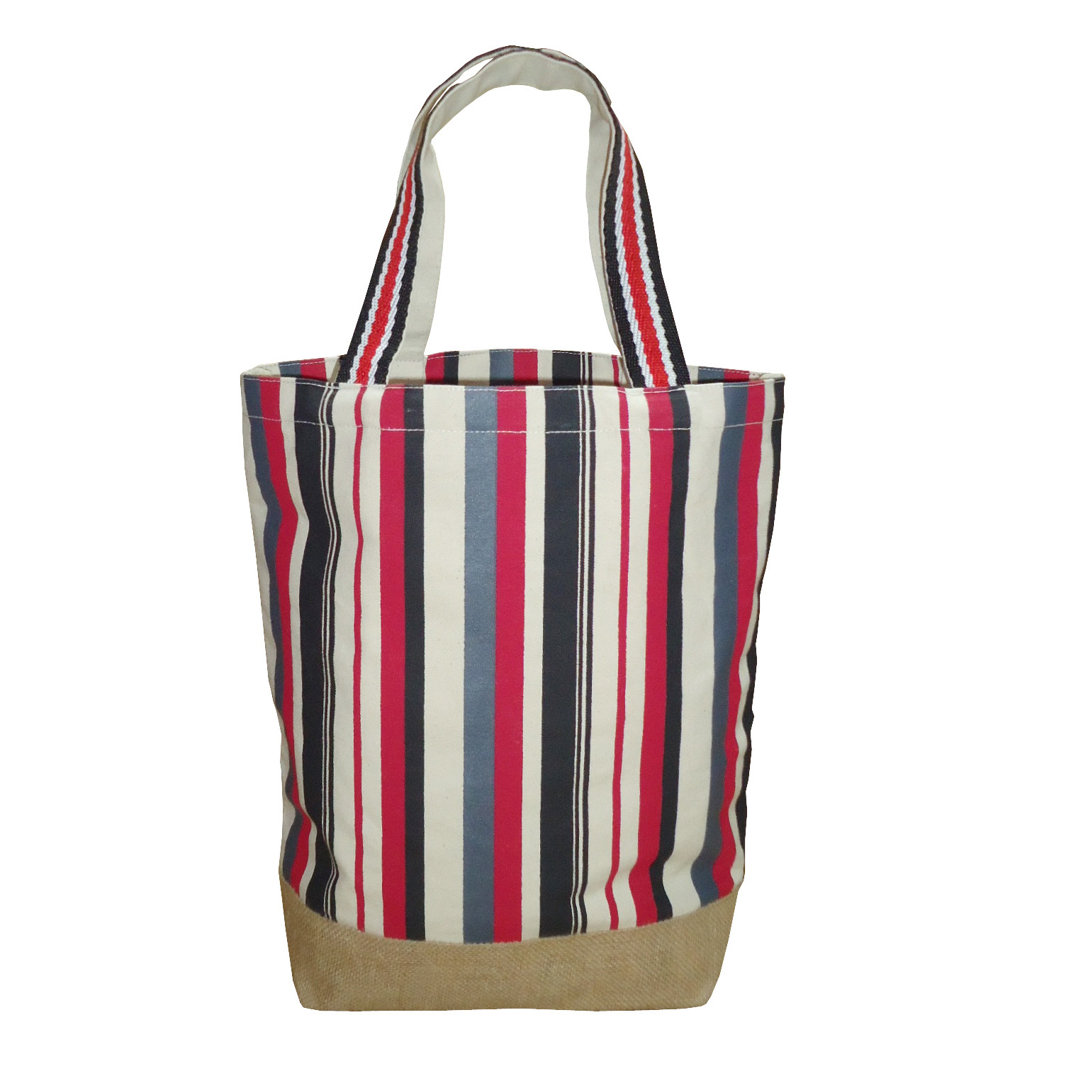 Supermarket Grocery Screen Printing Canvas Tote Bag