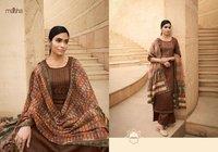 Maisha Ikaya Cotton Print With Embroidery Work Readymade Suit Catalog